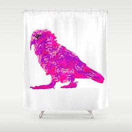 Kea Strut - pinks Shower Curtain