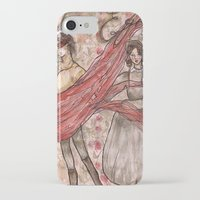 jane eyre iPhone & iPod Cases featuring Jane Eyre. An Autobiography  by Sarah Mary Street