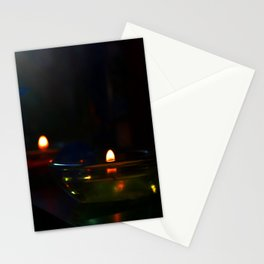 Candle Lit Stationery Cards