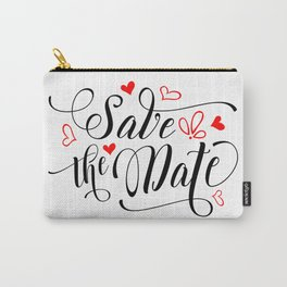 Save the date Carry-All Pouch