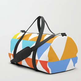Triangles of Color Duffle Bag