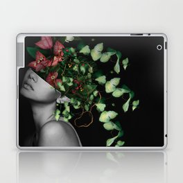 Lady Flowers X Laptop & iPad Skin
