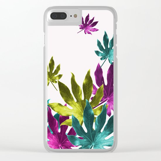Aralia Joy Clear iPhone Case