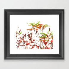 Fall Upwards Framed Art Print