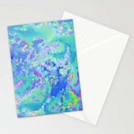 Winter's frost Stationery Cards