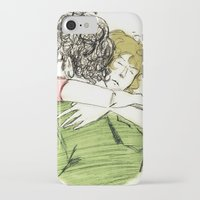 les mis iPhone & iPod Cases featuring ExR Hug les mis by Pruoviare