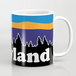 Maryland Moonscape Coffee Mug