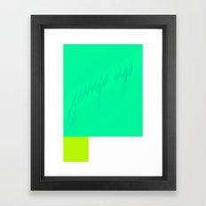 jump up Framed Art Print