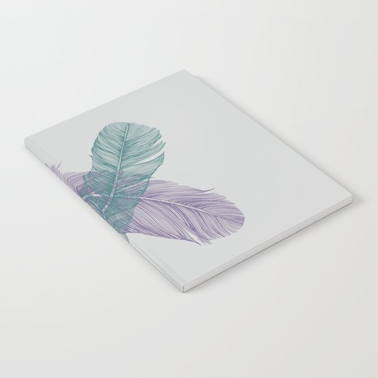 X Feathers Notebook