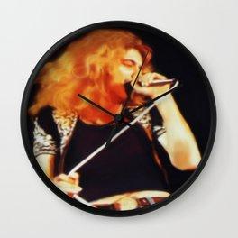Ramble On (Robert Plant Painting) Wall Clock
