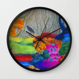 Day Dreaming Wall Clock