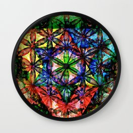 Soul Essence - The Sacred Geometry Collection Wall Clock