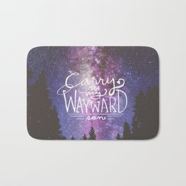 supernatural carry on my wayward son Bath Mat