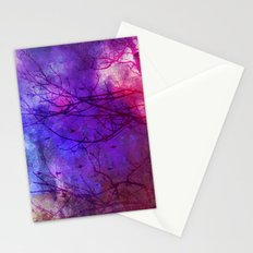 Pixel Dawn Stationery Cards