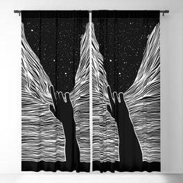Through the window Blackout Curtain
