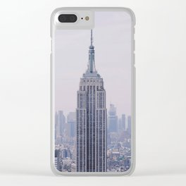 Empire State Building – New York City Clear iPhone Case