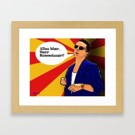 Falco Pop Art-ist Framed Art Print