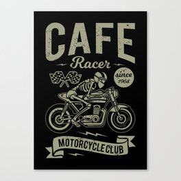 Cafe racer Canvas Print