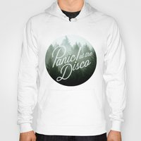 panic at the disco Hoodies featuring Panic! at the disco round trees (not transparent) by Van de nacht