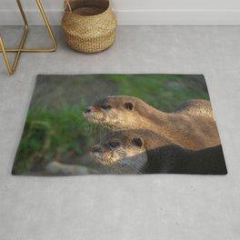 Otter Pair Rug
