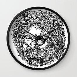 Jerry Garcia Wall Clock