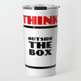 Think Outside The Box 2 Travel Mug