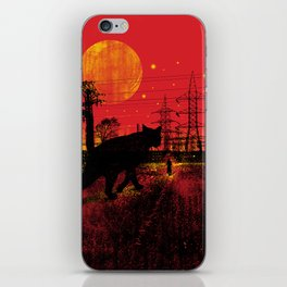 Cleo in the Dark iPhone Skin