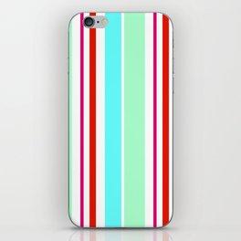 Stripes in colour 2 iPhone Skin