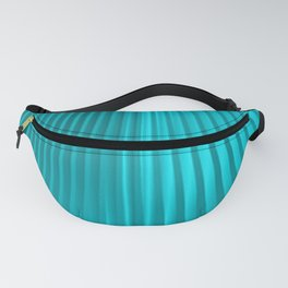 turquoise silk Fanny Pack