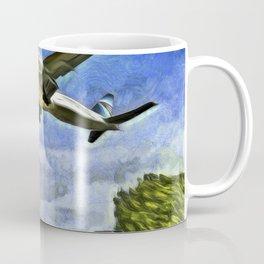 Airliner Vincent Van Gogh Coffee Mug