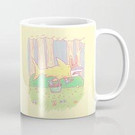 The Easter Bunny Shark Coffee Mug