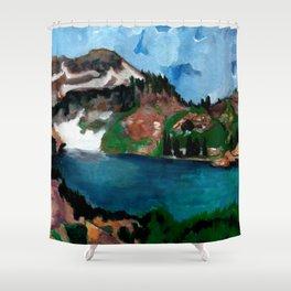 Cecret Lake. Utah. Shower Curtain