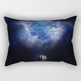 hot air ballon challenge Rectangular Pillow