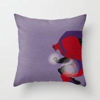 magneto Throw Pillows featuring My Magneto by Osvaldo Casanova