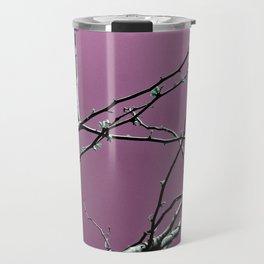 Reaching Violet Travel Mug