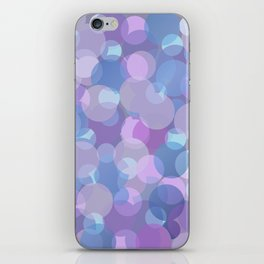 Pastel Pink and Blue Balls iPhone Skin