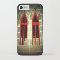 medieval iPhone & iPod Cases featuring Medieval Windows by Chris' Landscape Images & Designs
