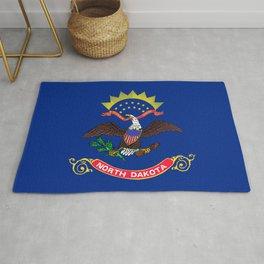 North Dakota State Flag Rug
