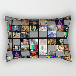 Britney Spears Music Videos Television Design  Las Vegas Planet Hollywood Britney : Piece of me Rectangular Pillow
