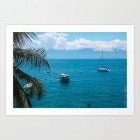 boats Art Prints featuring Boats by Mauricio Santana