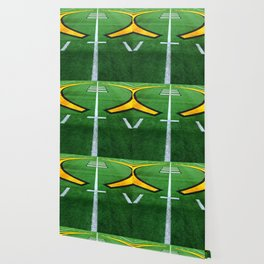 Rugby playing field Wallpaper
