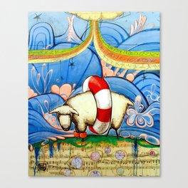 #221 Canvas Print