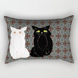Opposites Attract 2 Rectangular Pillow