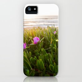 California Wildflowers in Half Moon Bay iPhone Case