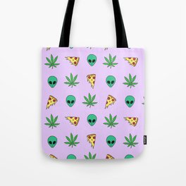 Trippy Pins Tote Bag