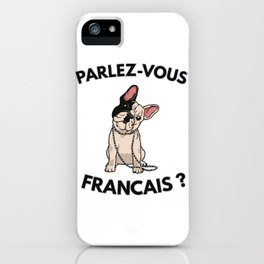 High end French Bulldog iPhone Case
