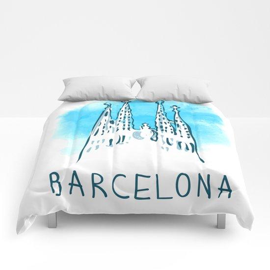 Barcelona 02 Comforters