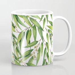 Exotic greenery pattern Coffee Mug
