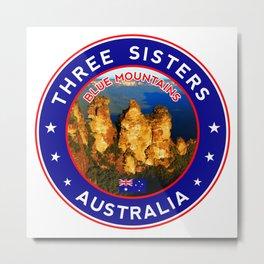 Three Sisters, Australia Metal Print