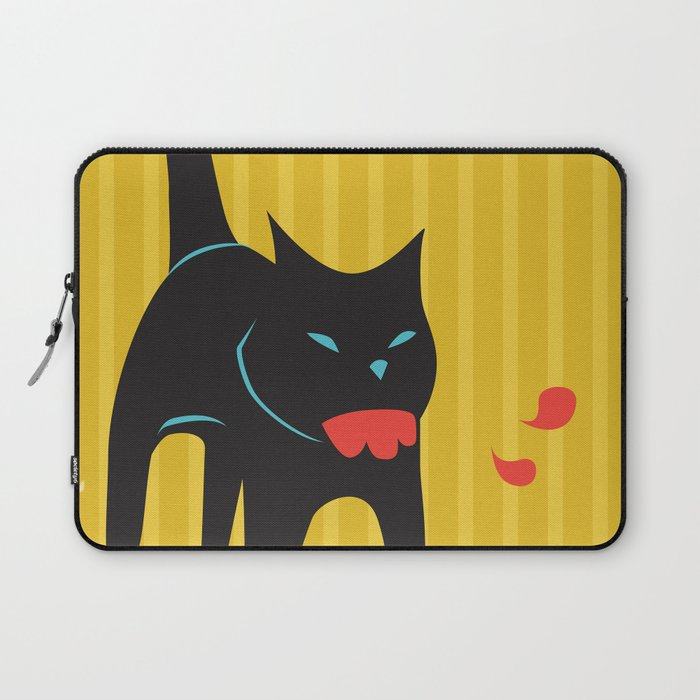 Zombie Cat Hank Laptop Sleeve